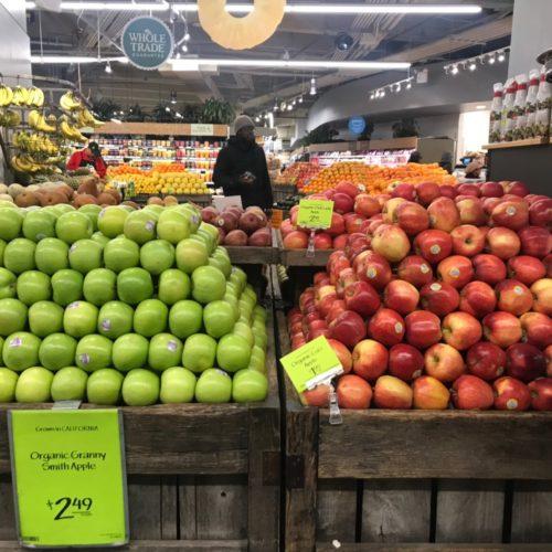ニューヨークのオーガニックマーケット